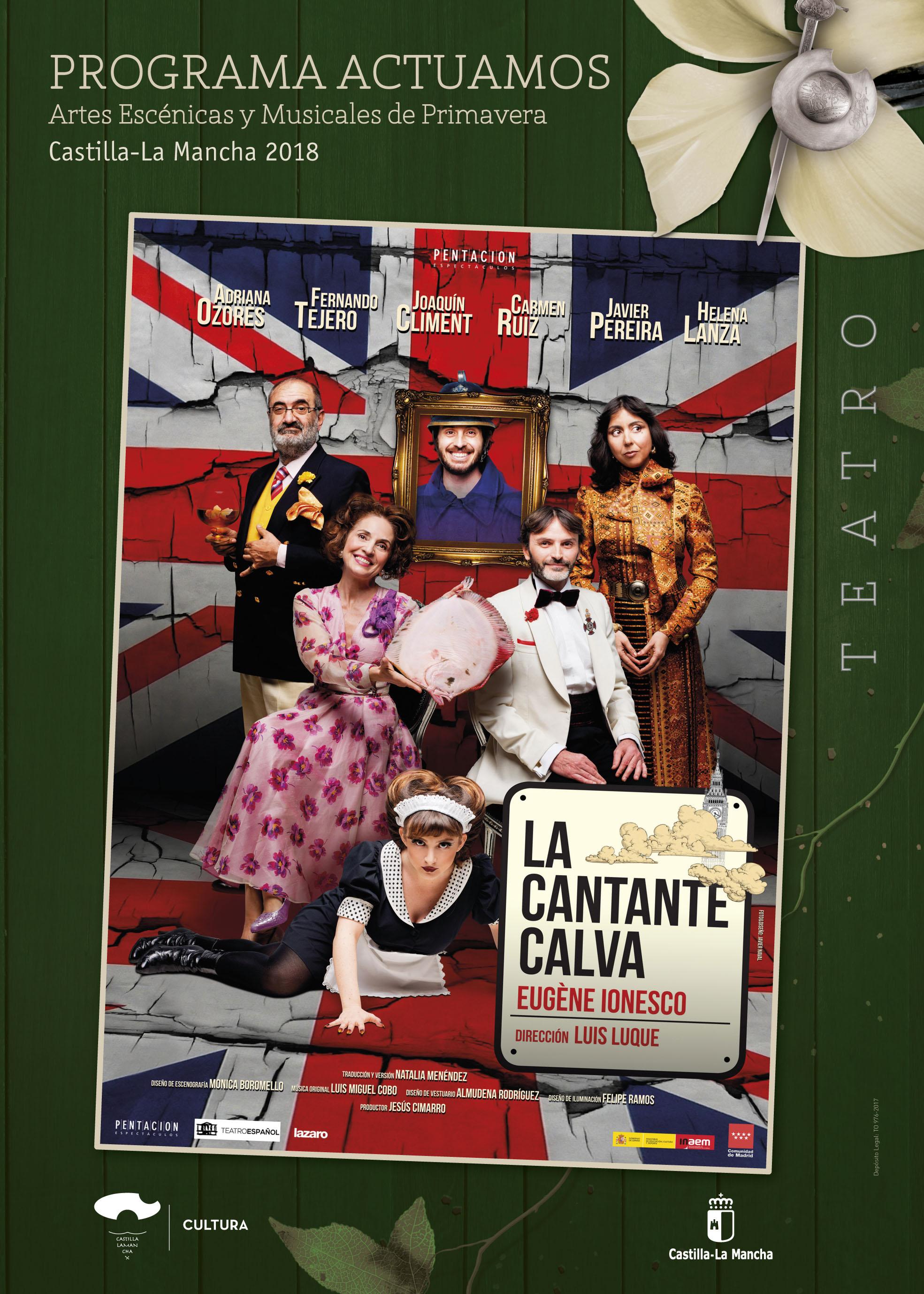 Imagen de la actividad LA CANTANTE CALVA (Lázaro Producciones)