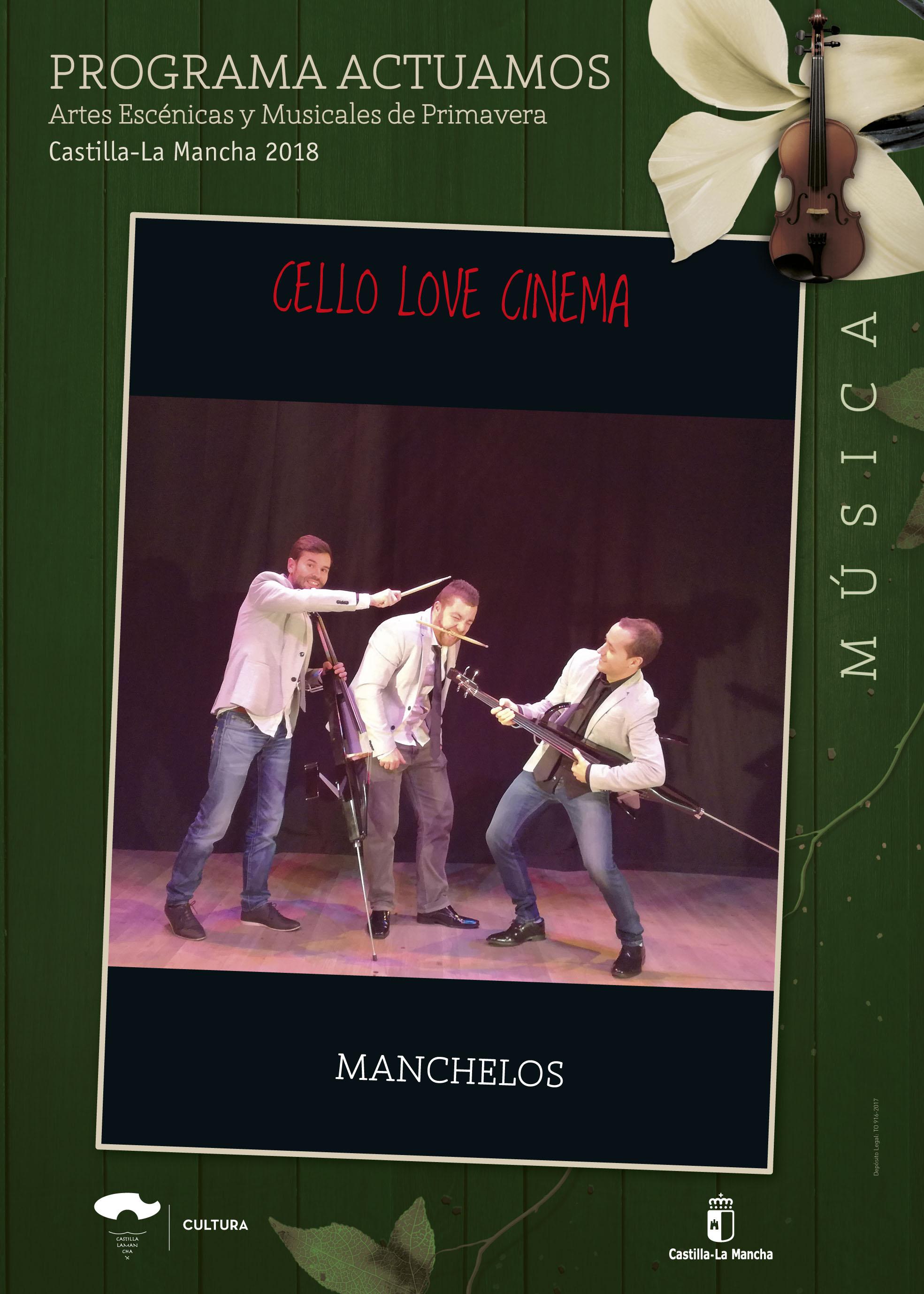 Imagen de la actividad CELLO LOVE CINEMA (Manchelos)