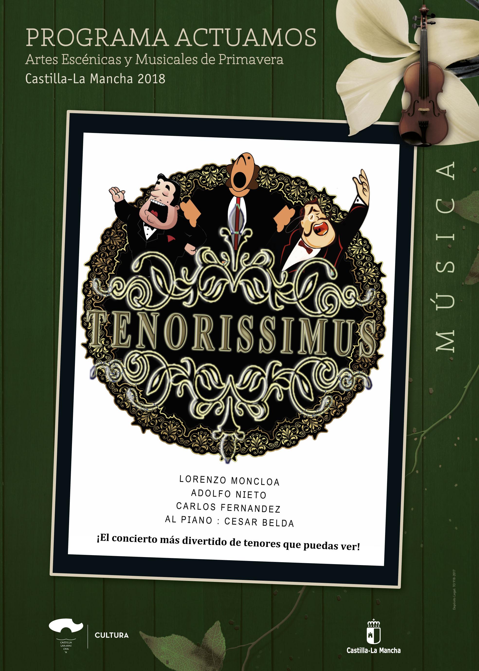 Imagen de la actividad TENORISSIMUS (Moncloa Producciones)
