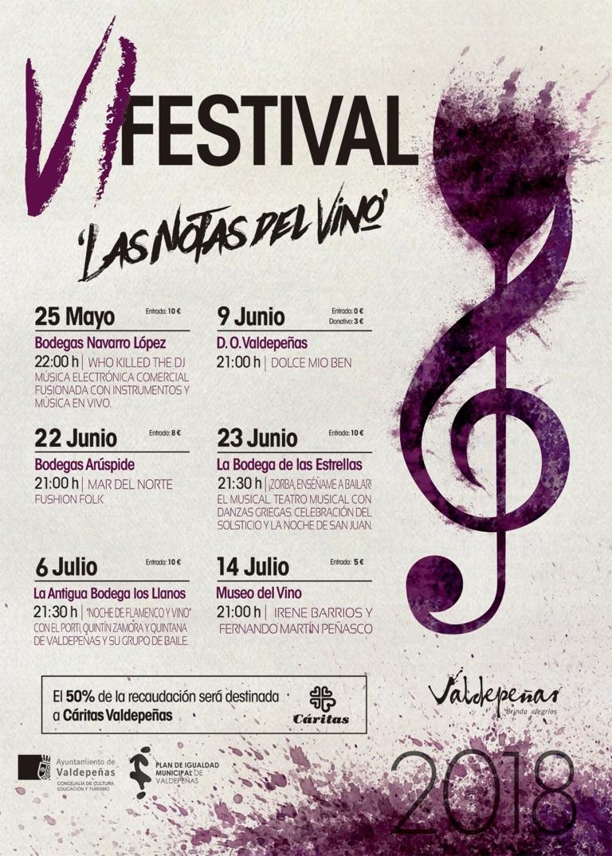 Imagen de la actividad VI Festival 'Las Notas del Vino'