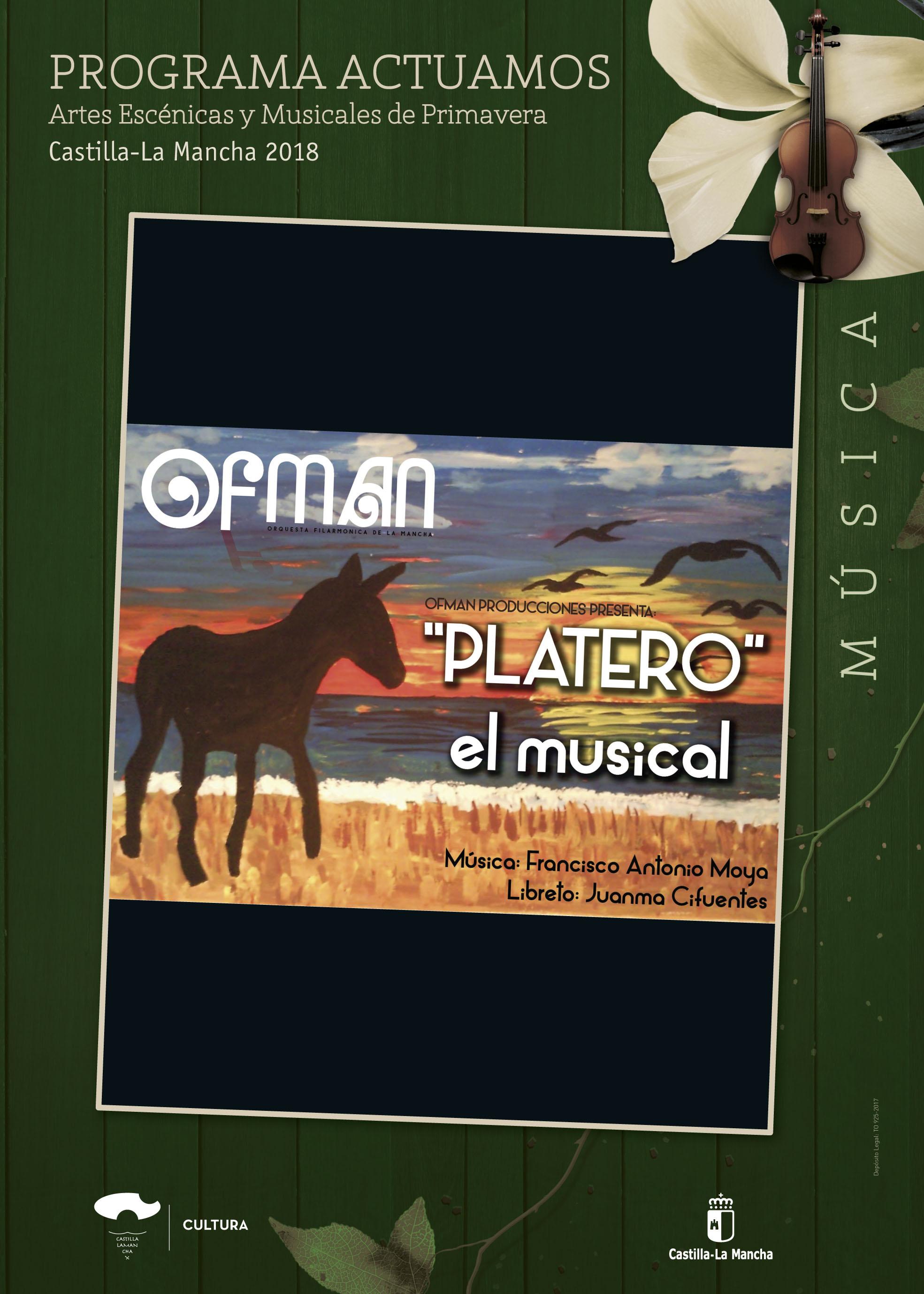 Imagen de la actividad PLATERO, EL MUSICAL (Orquesta Filarmónica de La Mancha)