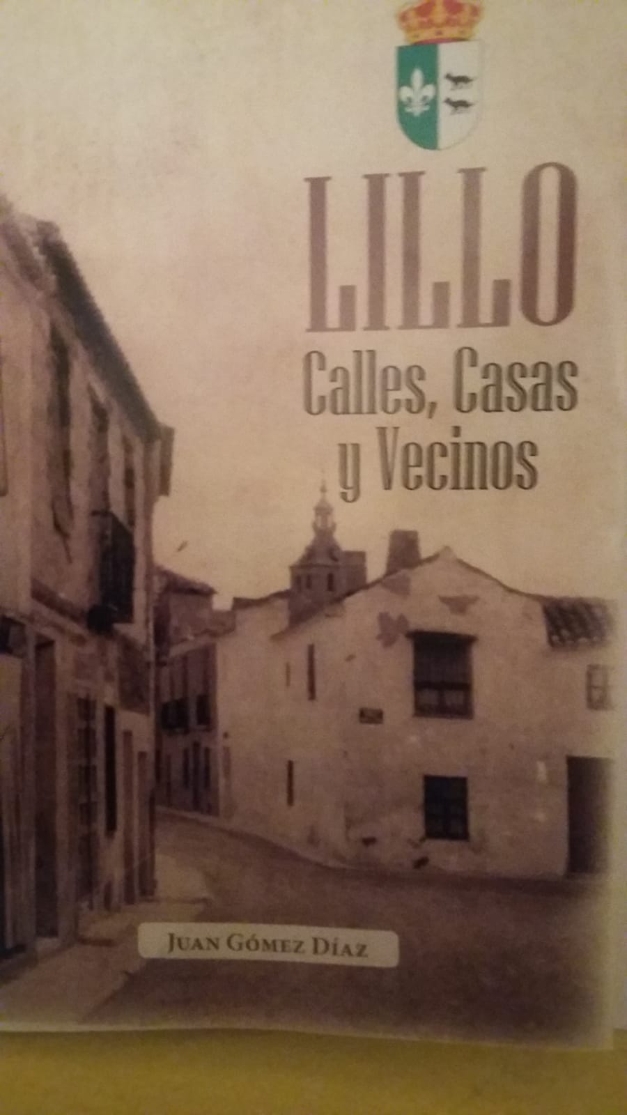 Imagen de la actividad Presentación del libro: Calles, casas y vecinos de Lillo
