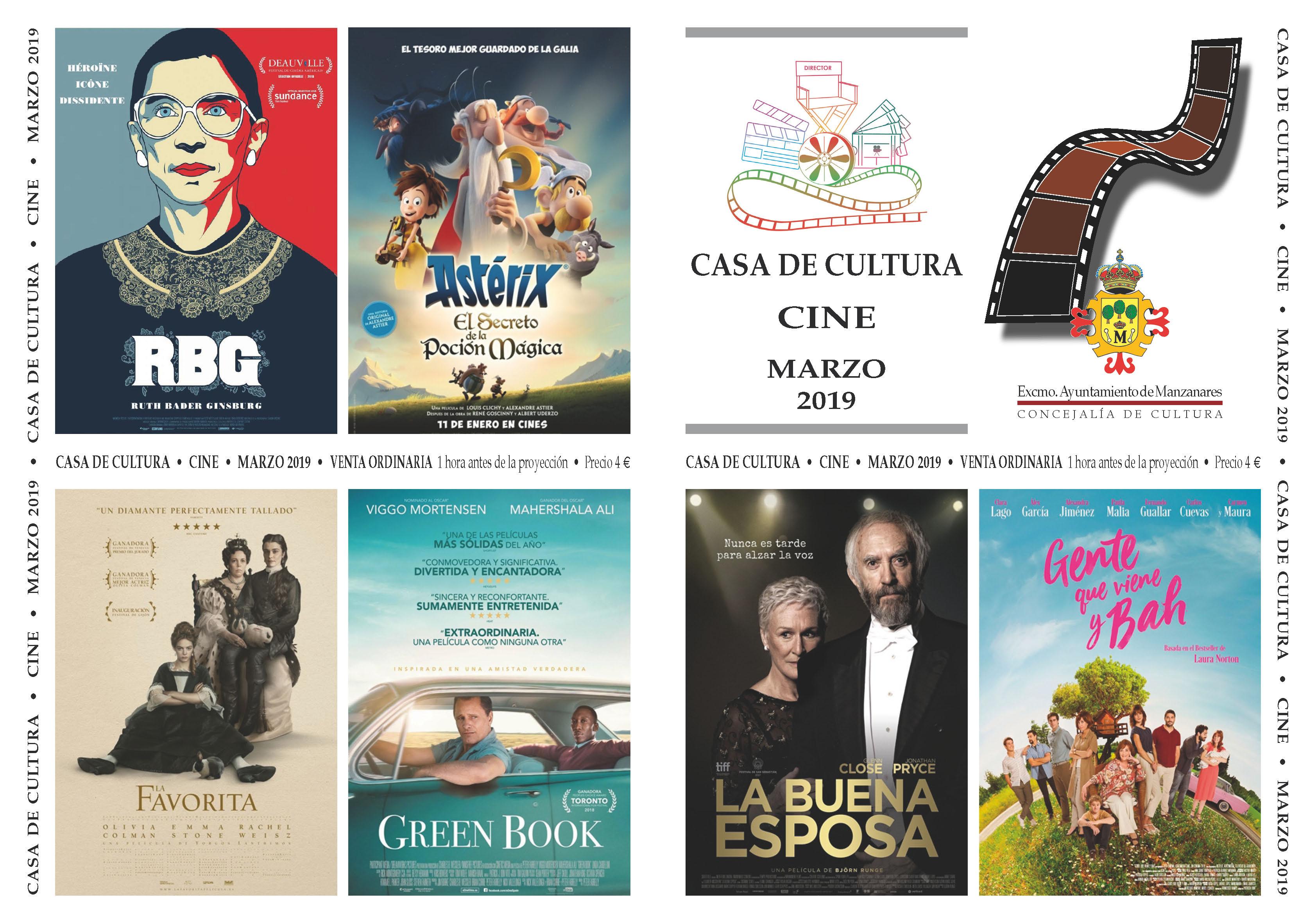 Imagen de la actividad Cine Marzo 2019