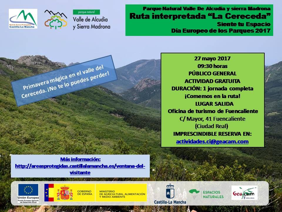 """Imagen de la actividad Ruta interpretada de senderismo """"La Cereceda"""", Parque Natural Valle de Alcudia y Sierra Madrona"""