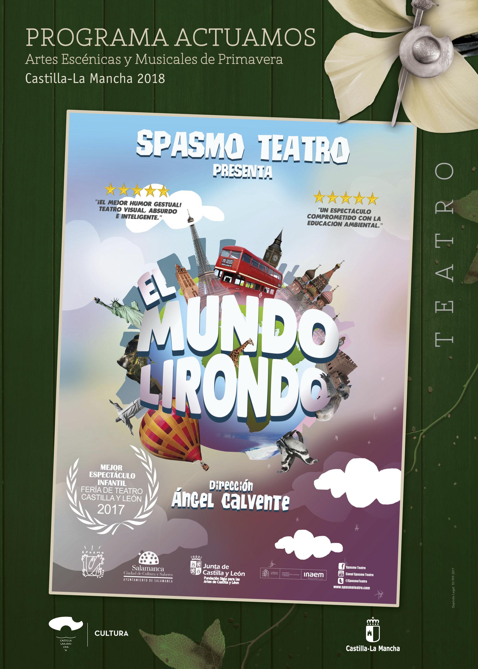 Imagen de la actividad EL MUNDO LIRONDO (Spasmo Teatro)