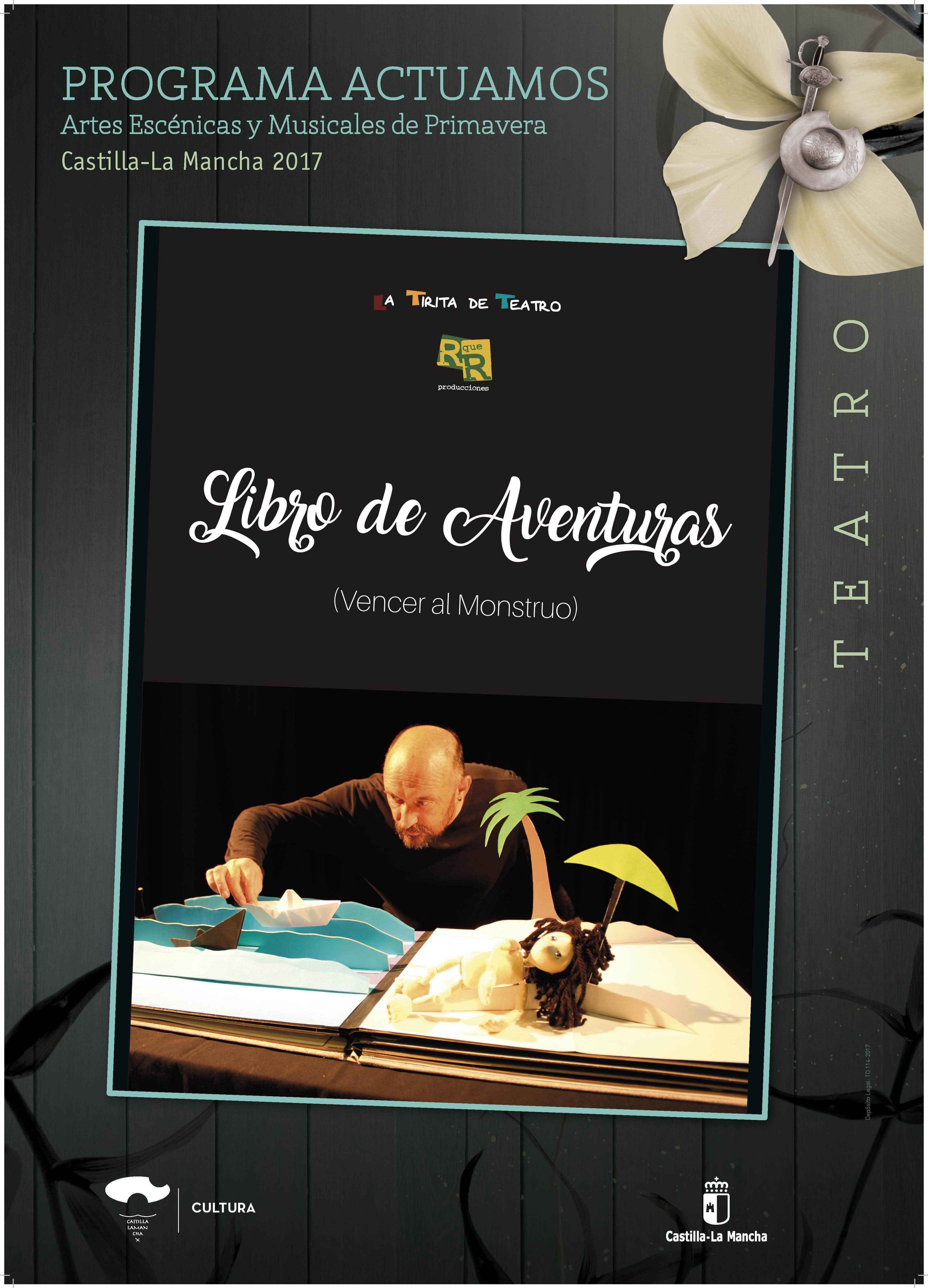 Imagen de la actividad UN LIBRO DE AVENTURAS, VENCER AL MONSTRUO (R que R Producciones)