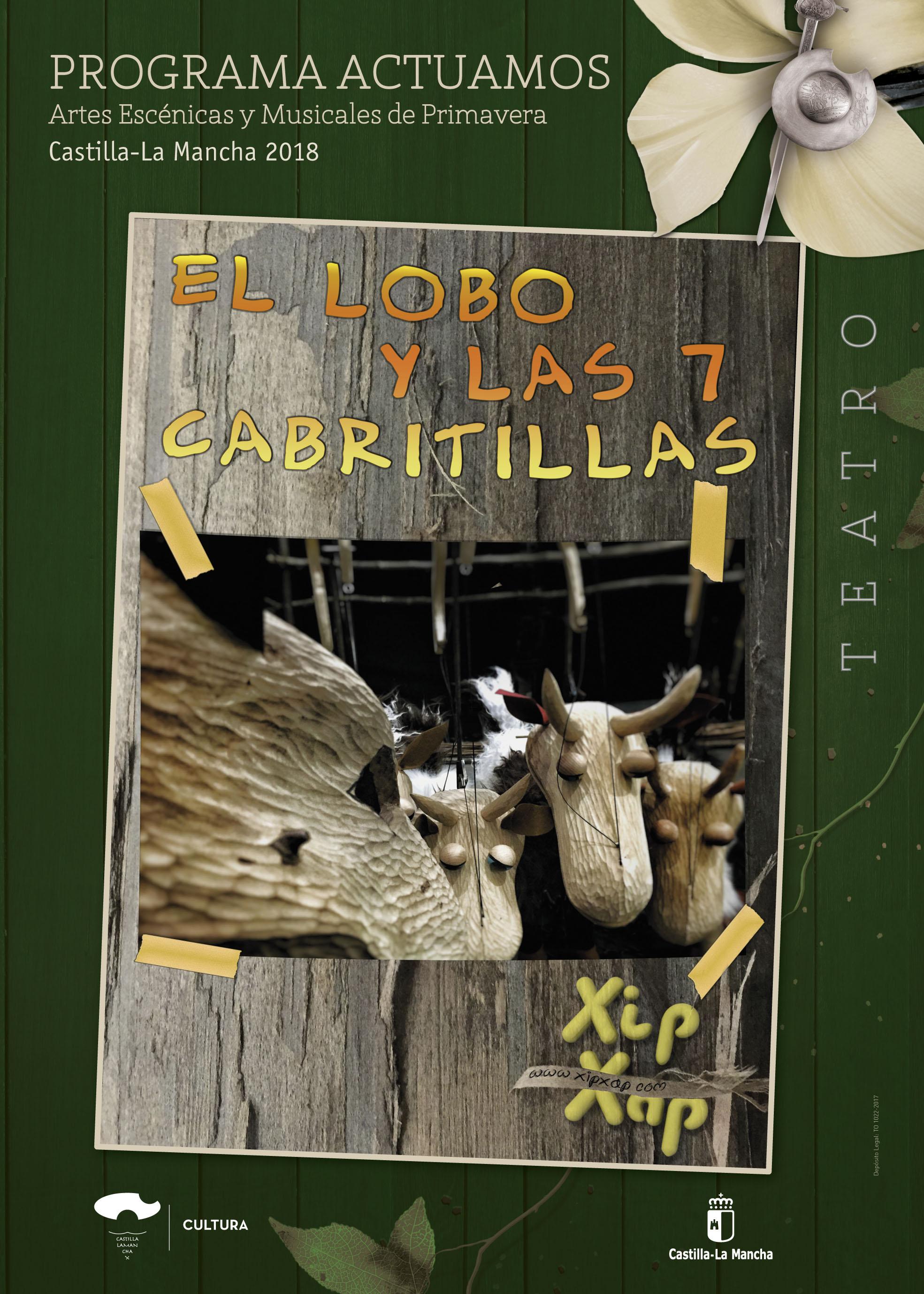 Imagen de la actividad EL LOBO Y LAS 7 CABRITILLAS (Xip Xap)