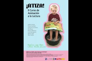 Imagen de la actividad  Plazo de inscripción en ¡Atiza! : II Jornadas de Animación a la lectura