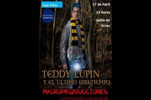"""Imagen de la actividad Fan Film """"Teddy Lupin y el último Giratiempo"""""""