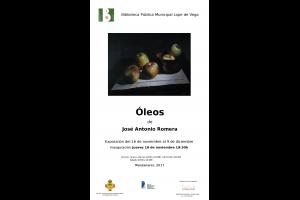 Imagen de la actividad  Exposición: Óleos de José Antonio Romera