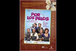 """Imagen de la actividad Programa Actuamos.Artes Escénicas y Musicales de Otoño. Castilla-La Mancha 2019  .""""Por los Pelos."""".  L´om Imprebis"""