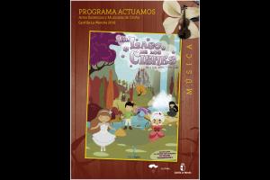 """Imagen de la actividad Programa Actuamos.Artes Escénicas y Musicales de Otoño. Castilla-La Mancha 2019  ."""" Ópera para Niños y Niñas  El Lago  de los Cines"""". Ferro Teatro"""