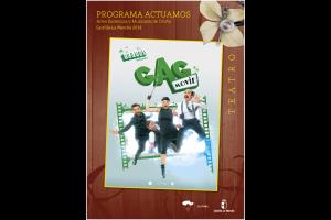 """Imagen de la actividad Programa Actuamos.Artes Escénicas y Musicales de Otoño. Castilla-La Mancha 2019  """" Gag Movie"""".Producciones Yllana."""