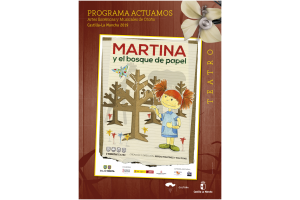 """Imagen de la actividad Programa Actuamos.Artes Escénicas y Musicales de Otoño. Castilla-La Mancha 2019.""""Martina y el bosque de papel"""".L'Horta Teatre, S.L."""