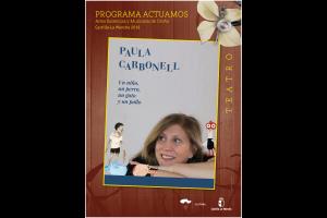 """Imagen de la actividad Programa Actuamos.Artes Escénicas y Musicales de Otoño. Castilla-La Mancha 2019.   """"Un niño, un perro, un gato y un pollo"""".Paula Carbonell"""