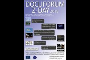 Imagen de la actividad Docuforum Z-Day 2018. Alfonso Estébanez