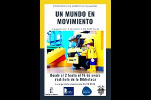 """Imagen de la actividad Exposición de Playmobil: """"Un mundo en movimiento"""", a cargo de Asociación CLICK REAL"""