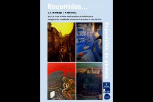 """Imagen de la actividad Exposición de pintura. Acrílicos: """"Recorridos…"""" de Juan Ignacio Naranjo"""