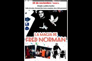 """Imagen de la actividad Viernes mágico: """"Espectáculo de magia"""" con el mago Fred Norman"""