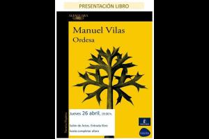 """Imagen de la actividad Presentación del libro """"Ordesa"""" de Manuel Vilas"""