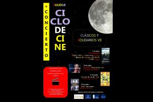 """Imagen de la actividad  Cine de verano y concierto en nuestra terraza : """"Clásicos y solidarios VII"""","""