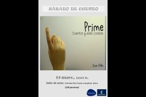 """Imagen de la actividad Sábado de cuento  """"Prime"""" . Juan Villén"""