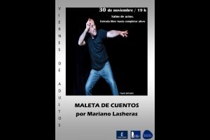 """Imagen de la actividad Cuentacuentos : Viernes de adultos """"Maleta de cuentos"""" por Mariano Lasheras"""