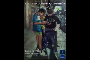 """Imagen de la actividad Exposición de pintura """"La figura y su expresión"""" de Antonia Valero"""