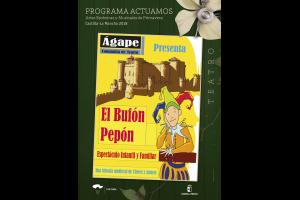 Imagen de la actividad EL BUFÓN PEPÓN (Ágape Teatro)