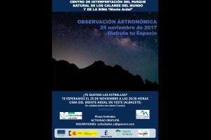 Imagen de la actividad JORNADA DE OBSERVACIÓN ASTRONÓMICA
