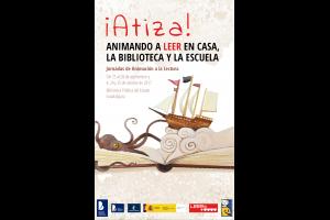 Imagen de la actividad Encuentro con Javier Sáez Castán dentro de las Jornadas de Animación a la Lectura