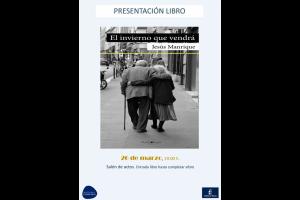 """Imagen de la actividad Presentación libro: """"El invierno que vendrá"""" de Jesús Manrique"""