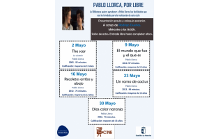 """Imagen de la actividad CineClub de la Biblioteca :""""Pablo Llorca, por libre"""" .Recoletos arriba y abajo"""
