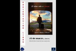 """Imagen de la actividad Presentación de  libro """"El alma sabe a cerezas"""", de Ignacio Márquez Cañizares"""