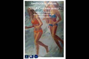 """Imagen de la actividad Exposición de pintura """"Ellas"""" de Pilar Muñoz"""