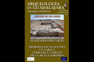 """Imagen de la actividad CONFERENCIA """"PRIMERAS EXCAVACIONES EN CARACA-CERRO DE LA MUELA (DRIEBES)"""""""