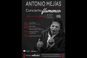 """Imagen de la actividad """"ANTONIO MEJÍAS"""". Concierto Flamenco"""