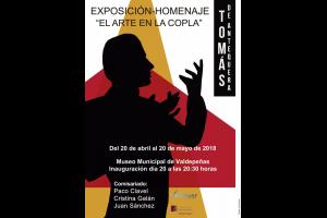 Imagen de la actividad EL ARTE EN LA COPLA. Exposición-Homenaje a TOMÁS DE ANTEQUERA