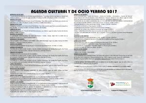 Imagen de la actividad AGENDA CULTURAL Y DE OCIO VERANO 2017