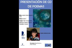 """Imagen de la actividad Presentación de CD de poemas """"Insomnio"""""""