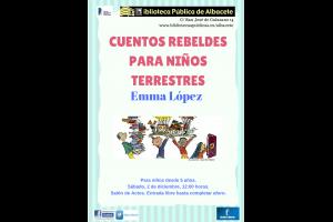 """Imagen de la actividad """"Cuentos rebeldes para niños terrestres"""" con Emma López"""