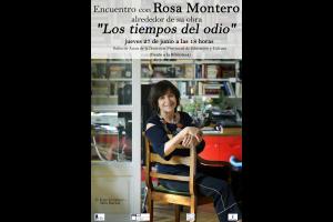 Imagen de la actividad Encuentro con Rosa Montero