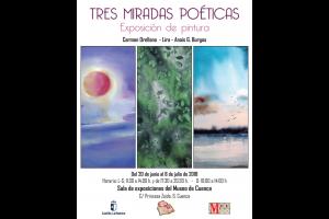 """Imagen de la actividad Exposición """"Tres Miradas Poéticas"""""""