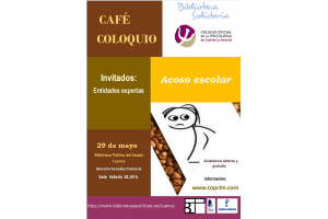 Imagen de la actividad Café-coloquio sobre acoso escolar
