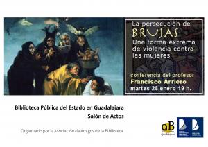 Imagen de la actividad  La persecucion de brujas : una forma extrema de violencia contra las mujeres