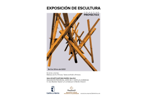 """Imagen de la actividad Exposición de escultura de la Asociación de Escultores de Guadalajara """"PROYECTO 3"""""""