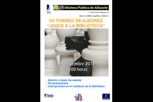 """Imagen de la actividad VII Torneo de ajedrez """"Jaque a la biblioteca"""""""