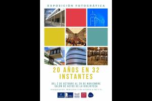 """Imagen de la actividad SEMANA DE LA BIBLIOTECA. Exposición fotográfica """"20 años en 32 instantes"""""""