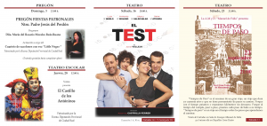 Imagen de la actividad Programación Cultural Gran Teatro Septiembre 2017