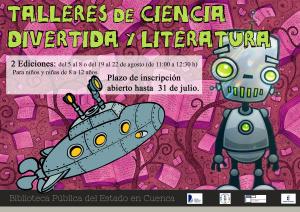 Imagen de la actividad Talleres de Ciencia Divertida y Literatura